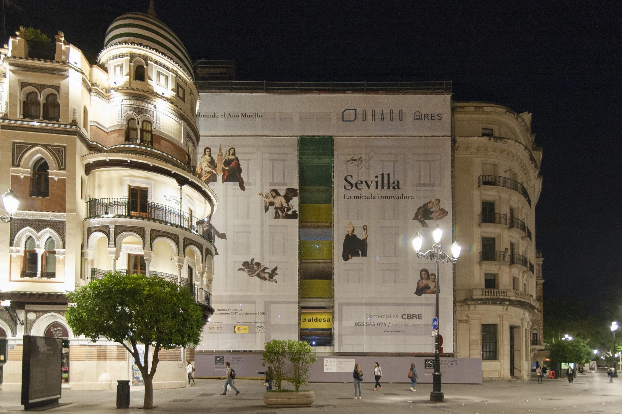2018.05 Edificio Drago Avda. de la Constitución - Sevilla, año murillo (1)